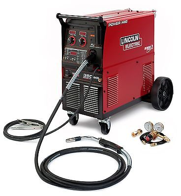 Lincoln Electric Power Mig 350mp Mig Welder K2403-2