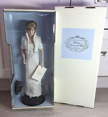 Princess Diana of Wales Peoples Princess Franklin Mint Doll NRFB MINT Complete