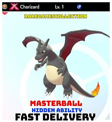 Pokemon Sword Shield ✨ SHINY ✨ 1️⃣ GMAX CHARIZARD 6IV FAST DELIVERY