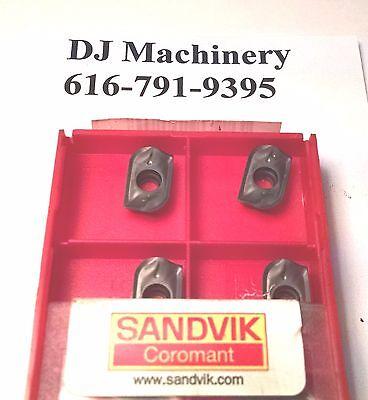 10 Pcs. Sandvik Mill Cutter Carbide Inserts R390-11 T3 31E-KM Grade H13A New NIB