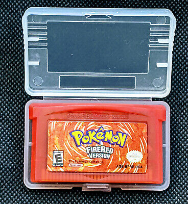 Pokemon Fire Red Version GBA Gameboy Advance