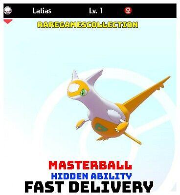 Pokemon Sword Shield ✨ SHINY ✨ 1️⃣ LATIAS 6IV FAST DELIVERY