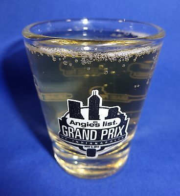 2015 Angies List Grand Prix Of Indianapolis Event Collector Shot Glass New