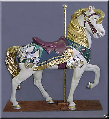 """Full Size Carousel Horse PTC Stander 62"""" FREE SHIPPING!"""