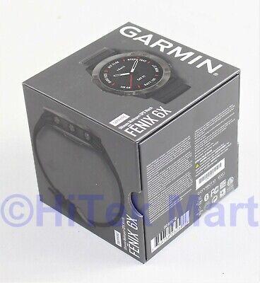 Garmin Fenix 6X Sapphire, Ultimate Multisport GPS Watch, 010-02157-10
