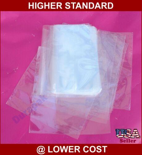 "250 to 9000 pcs 4x6"" to 12x16"" Various Sizes POF Heat Shrink Wrap Film Flat Bags"