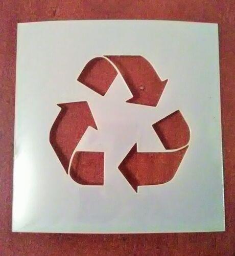 5 inch Recycle Symbol Stencil