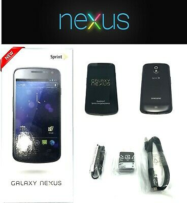 New Samsung Galaxy Nexus Sprint Locked SPHL700 32GB Smartphone in Black