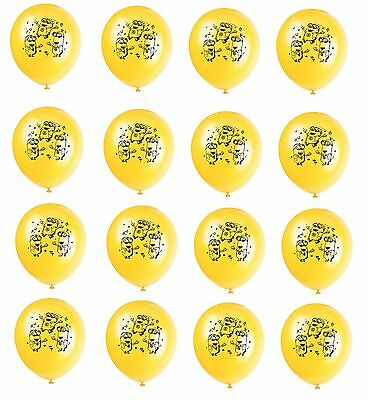 (16ct) Despicable Me 2 Minions Birthday Latex Balloons Party Supplies 12