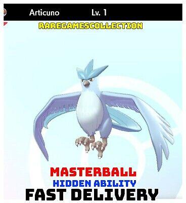 Pokemon Sword Shield ✨ SHINY ✨ 1️⃣ ARTICUNO 6IV FAST DELIVERY