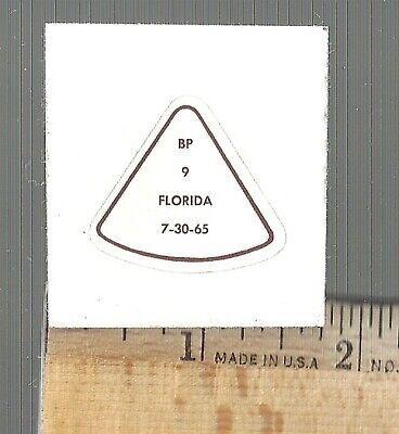 "Apollo Test- DECAL Reads ""BP-26 (Boiler Plate) Florida 5-25-65."