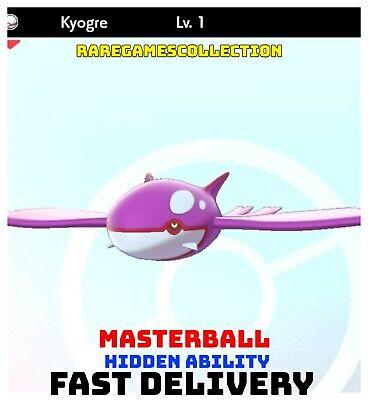Pokemon Sword Shield ✨ SHINY ✨ 1️⃣ KYOGRE 6IV FAST DELIVERY