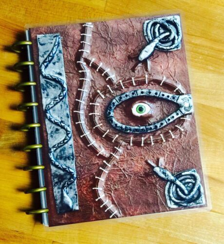 *Spell Book* Hocus Pocus Cover Set FOR USE with the Happy Planner