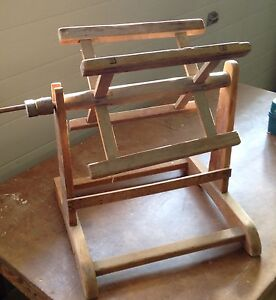 Antique wool winder