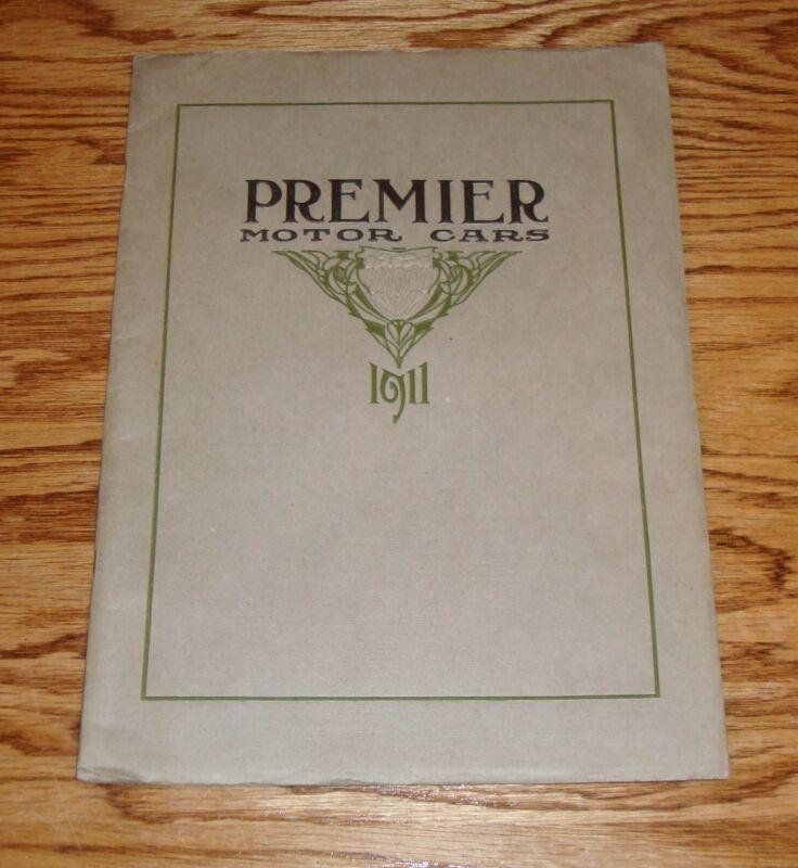 Original 1911 Premier Motor Cars Sales Catalog Brochure 11