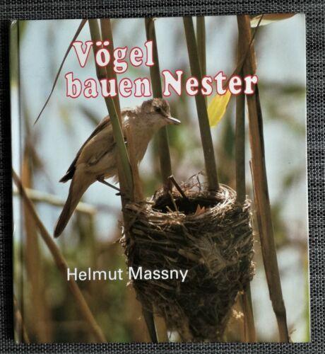 """""""Vögel bauen Nester"""" v. Helmut Massny"""