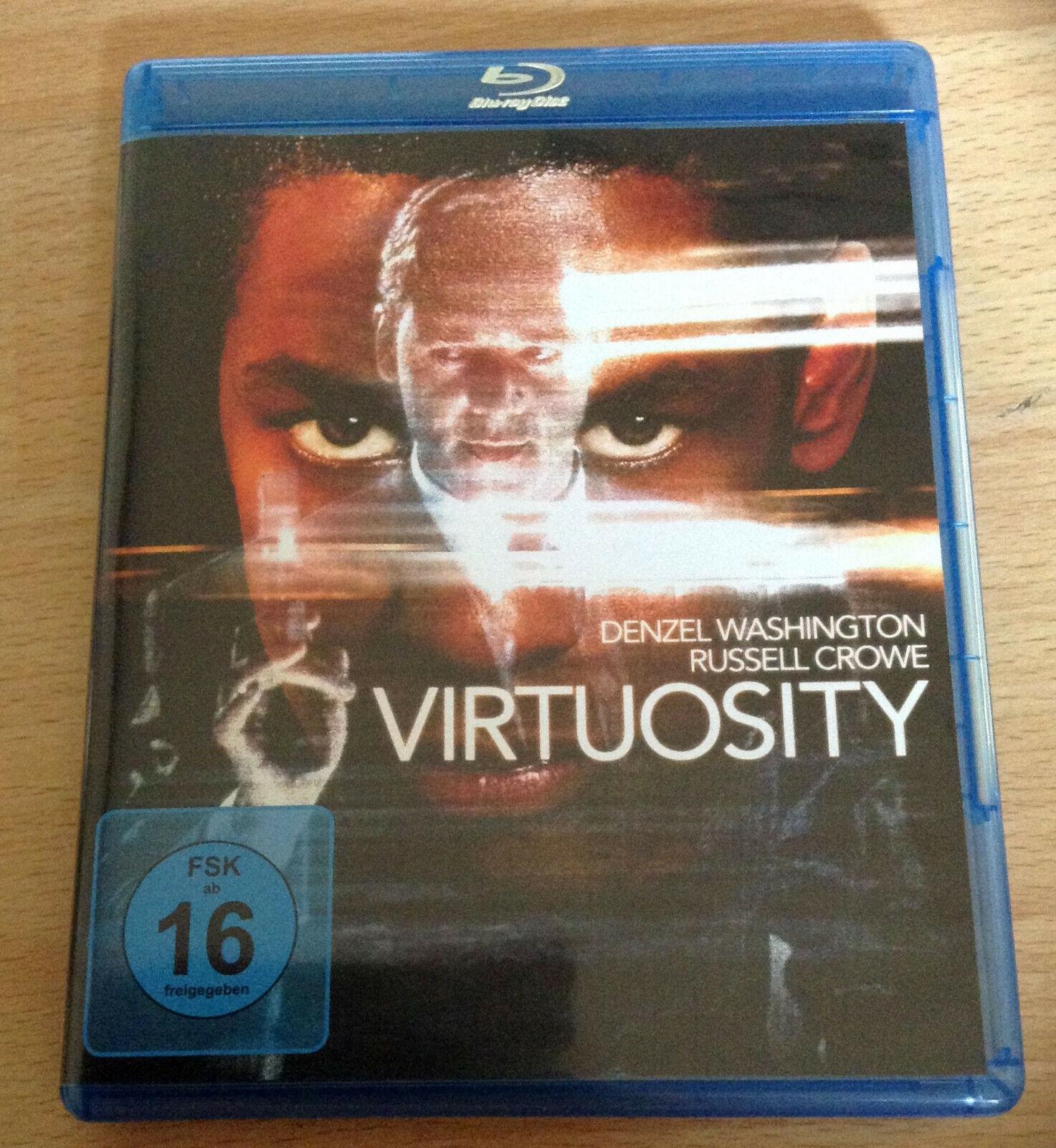 Virtuosity [Blu-ray] - Denzel Washington, Russell Crowe, Kelly Linch