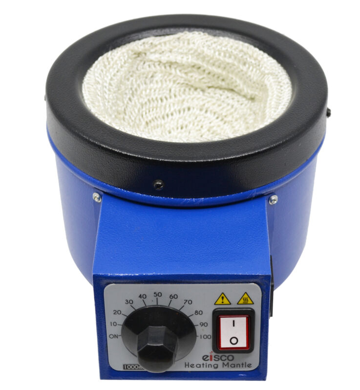 Heating Mantle, 1 Liter Capacity, Electric Heating Net (Glass Yarn) -Eisco Labs