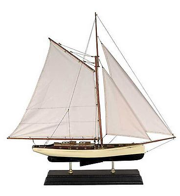 1930s Classic Yacht, Large - Model Ship
