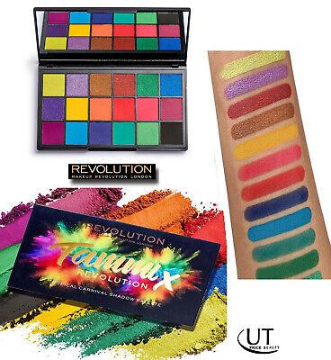 Revolution Eyeshadow Palette Vegan New sealed  x Tammi Tropical Carnival Palette
