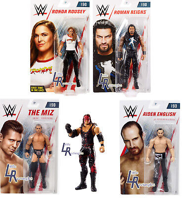 WWE Figures - Basic Series 90 - Mattel - Brand New - Sealed