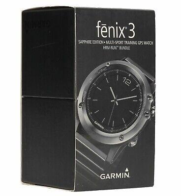 Garmin Fenix 3 Sapphire Performance Bundle