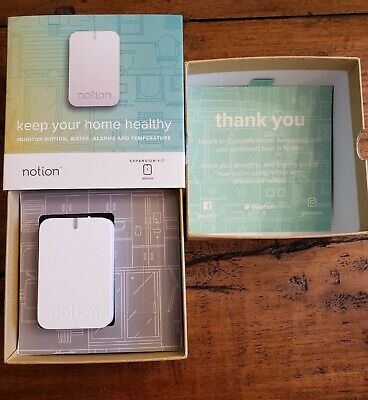 Notion All in One Smart Home Monitoring System Bridge ONLY Sensor receiver All In One Receiver