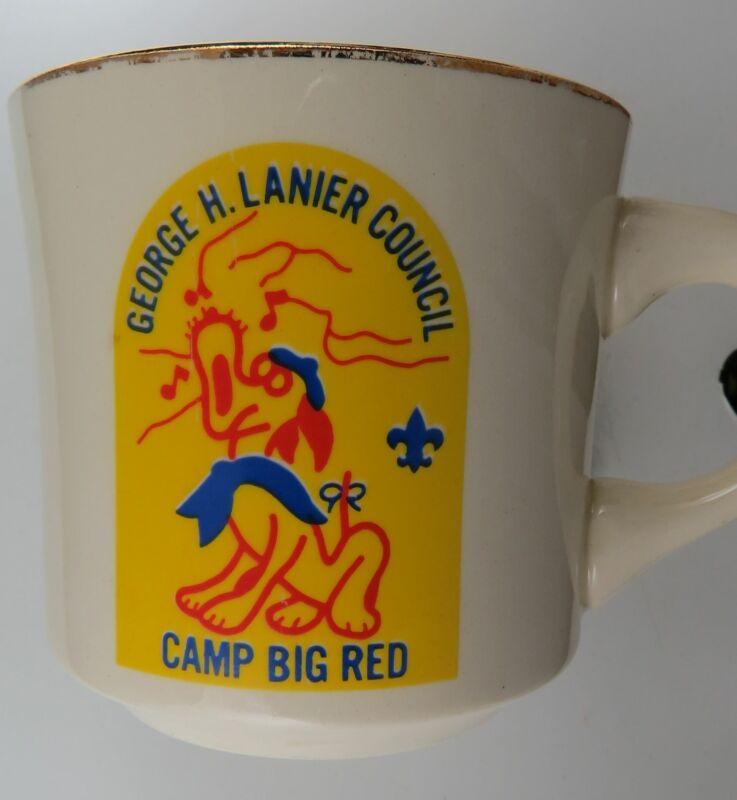 Camp Big Red George H. Lanier Council Mug [MUG-709]