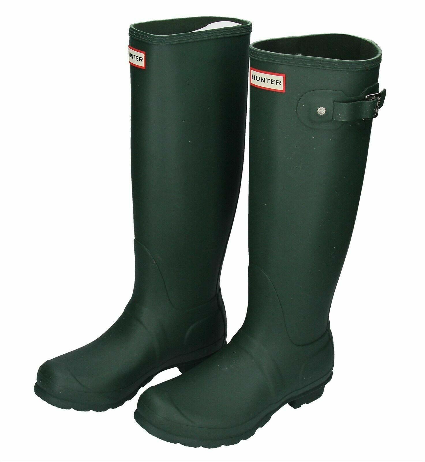 bf70a869ee0 Hunter Women's Original Tall Rain Boots - Green
