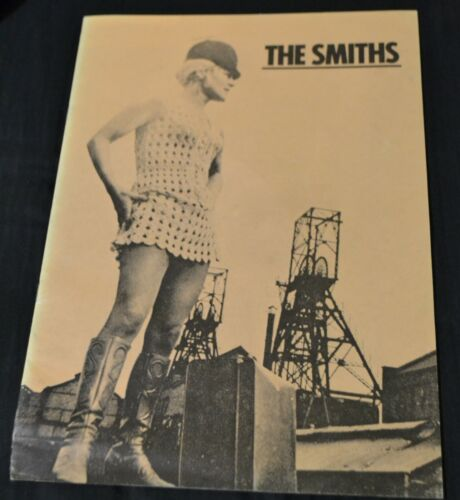 1985 The Smiths Meat Is Murder Tour Book Program Morrissey