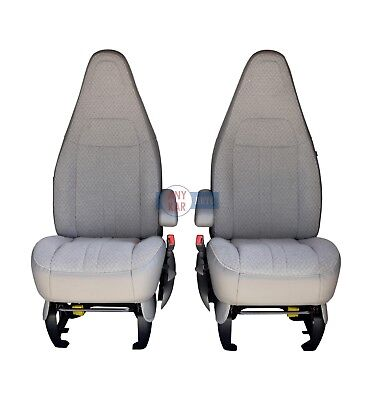 2003-2014 Chevy Express 1500 2500 3500 Van Driver Bottom Cloth Seat Cover Tan