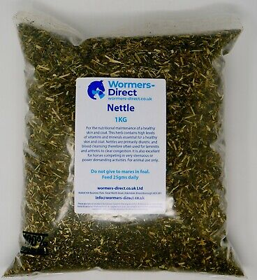 NETTLE HERB FOR HORSES & PONIES - FEED SUPPLEMENT 1KG
