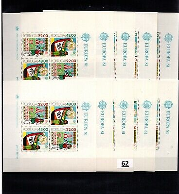 / 10X PORTUGAL - MNH - EUROPA CEPT 1981 - CULTURE - BOATS - WHOLESALE