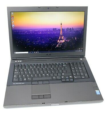 Dell Precision M6800 17.3 Laptop: Core i7-4600M 256GB+HDD 16GB RAM Warranty VAT