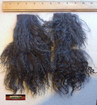 M00236 MOREZMORE Hair Tibetan Lamb Remnants MOCHA BROWN Doll Baby A60