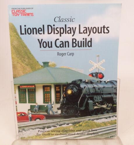 "BK ""Classic Lionel Display Layouts You Can Build"" Book Postwar Dealer Display"