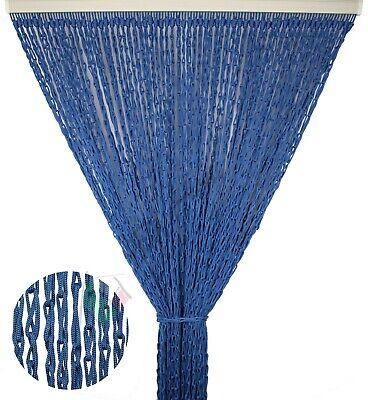 Tenda antimosche tenda porta anti insetti in corda colorata intrecciata Mod.LILY