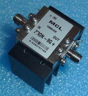 New Mini Circuits Mcl Zron-8g Amplifier Medium Power 2000 To 8000 Mhz