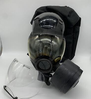 Msa Millennium Cbra 40mm Gas Mask Small Full Face W Bag 10006231 Riot 5