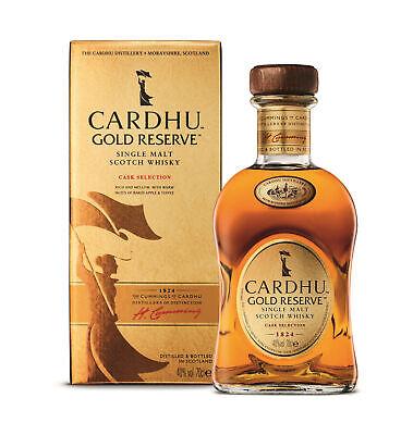CARDHU Gold Reserve - Speyside Single Malt Whisky 1x 0,70L 40%vol.