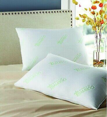 Bam Bamboo - Two Pack Bamboo Polyfill Pillows Super Standard Size 20