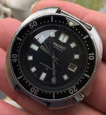 Vintage Seiko 6105-8110 150m Diver Watch
