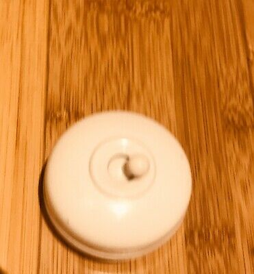 Crabtree Bakelite & Porcelain Light Switches In WHITE (Free Postage )