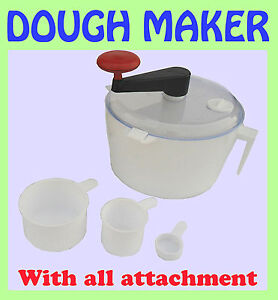 Manual Dough Kneader / Atta Maker(MIXER) for Roti / Chapati / Tortilla WORLDWIDE