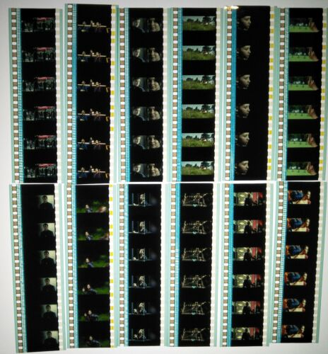 The Hunger Games Movie 60 x 35mm Genuine Film Cells 12 x Strips Cinema Reel A