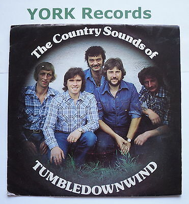 """TUMBLEDOWNWIND - The Country Sounds Of ... - Ex Con 7"""" Single Tryfan TRF 124"""