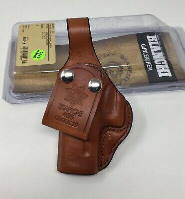 Bianchi® 18013 Model 3S Pistol Pocket IWB Leather Holster, GLOCK 19 / 23 - LH Bianchi 3s Pistol Pocket Holster