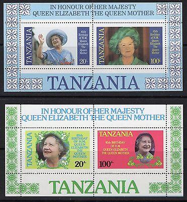 TANZANIA SGMS429 1985 QUEEN MOTHER MNH