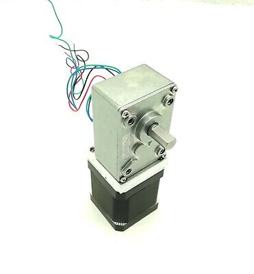 Nema17 Turbine Worm Gear Stepper Motor Hybrid 2 Phase 4 Wires