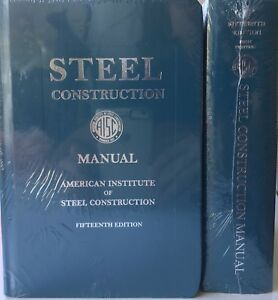 aisc manual books ebay rh ebay com NYS Steel Construction Manual Steel Construction Manual Online
